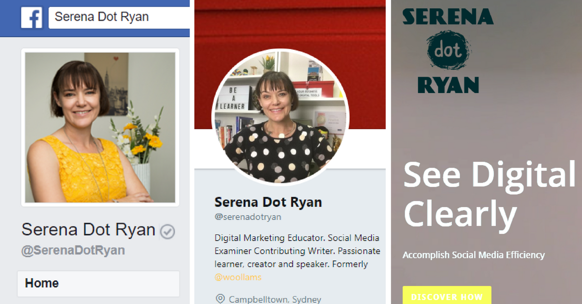 Serena Dot Ryan - Leverage Your Online Presence