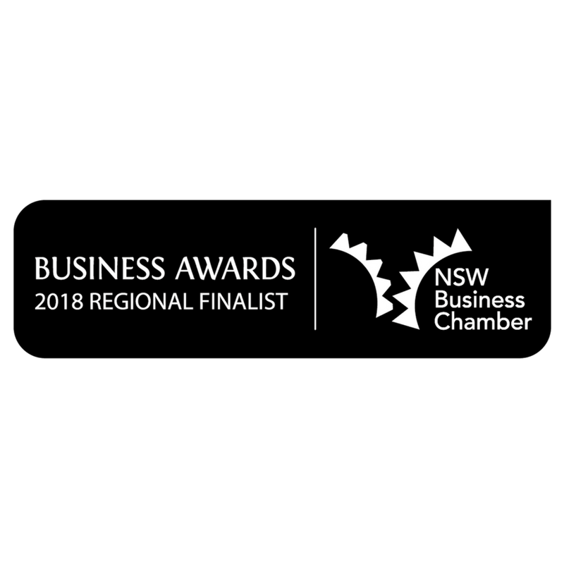 NSW Business Chamber State Finalist 2018