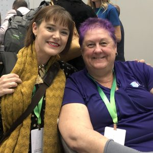 Serena Dot Ryan and Kathy-Maree Bartle